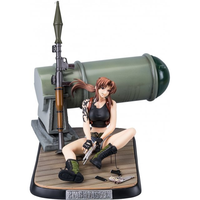 Black Lagoon 1/6 Scale Pre-Painted Figure: Levy DX Edition