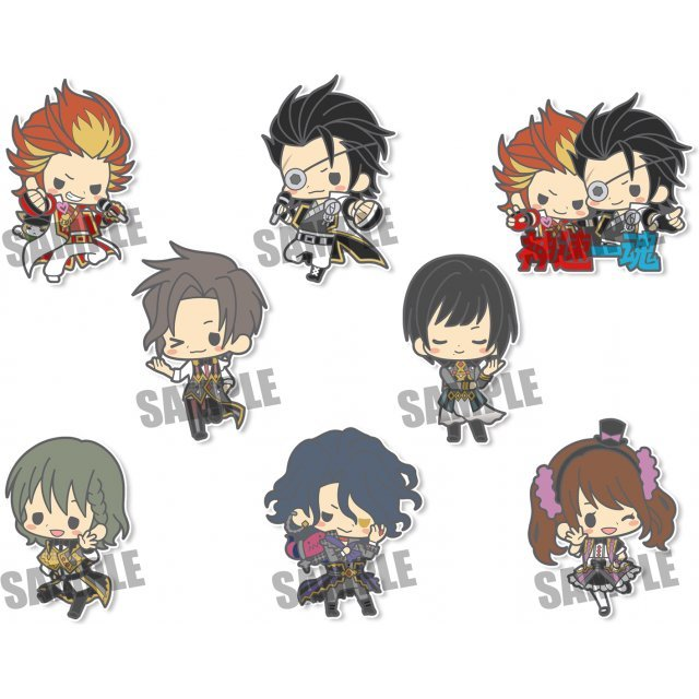 es nino The Idolm@ster SideM 3rd Stage Rubber Strap Collection (Set of 8 pieces)