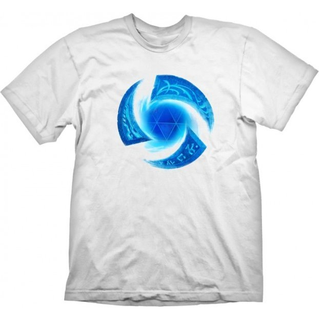 Heroes of the Storm T-Shirt: Symbol White (L Size)