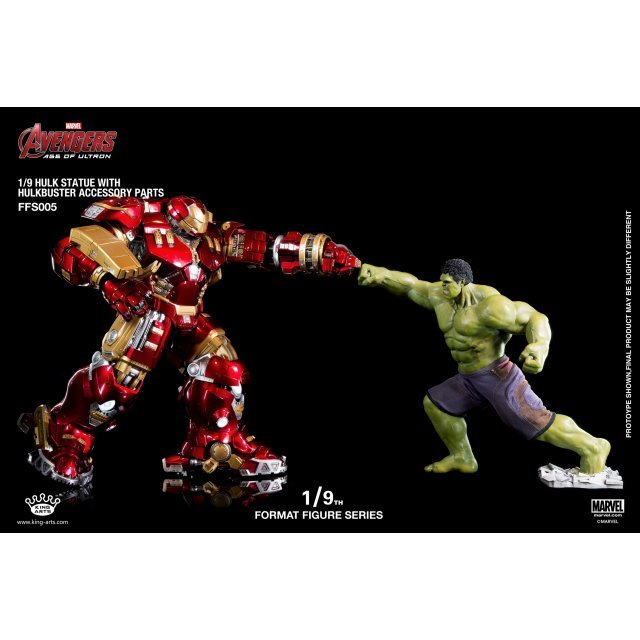 King Arts Avengers Age of Ultron 1/9 Diecast Figure Series: Hulk and Hulkbuster Accessory Parts