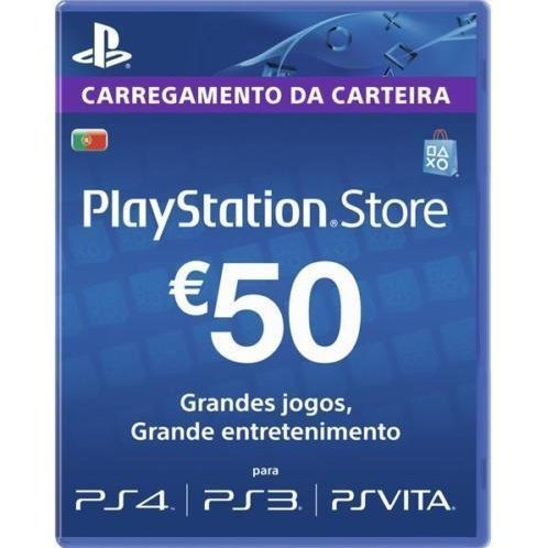 PSN Card 50 EUR | Playstation Network Portugal