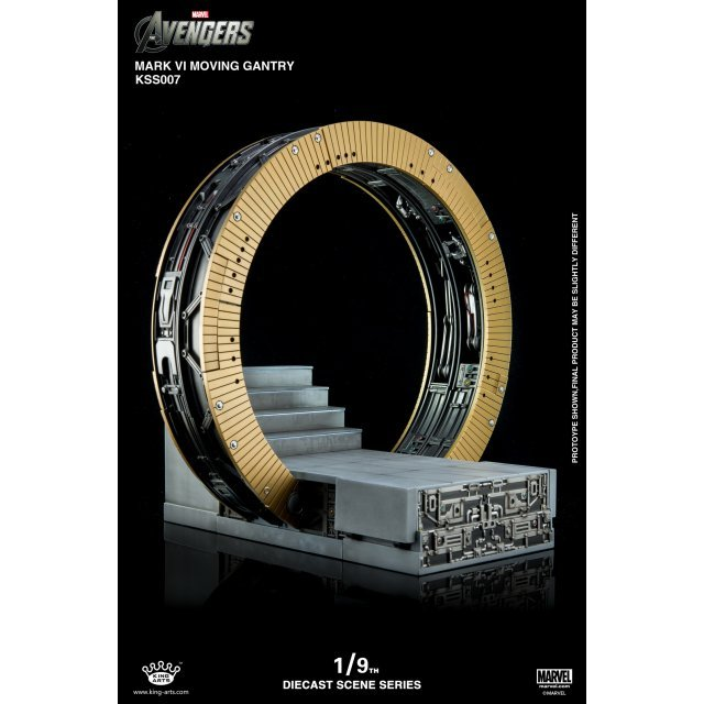 King Arts Scene Series Avengers: 1/9 Mark VI Moving Gantry