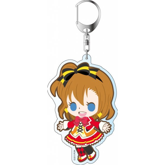Love Live! The School Idol Movie Deka Keychain: Sunny Day Song Ver. Kousaka Honoka