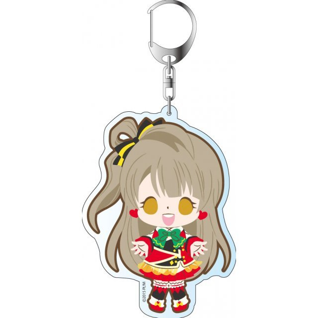 Love Live! The School Idol Movie Deka Keychain: Sunny Day Song Ver. Minami Kotori