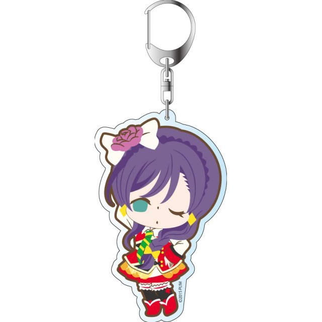 Love Live! The School Idol Movie Deka Keychain: Sunny Day Song Ver. Toujou Nozomi