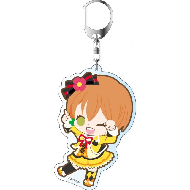 Love Live! The School Idol Movie Deka Keychain: Sunny Day Song Ver. Hoshizora Rin