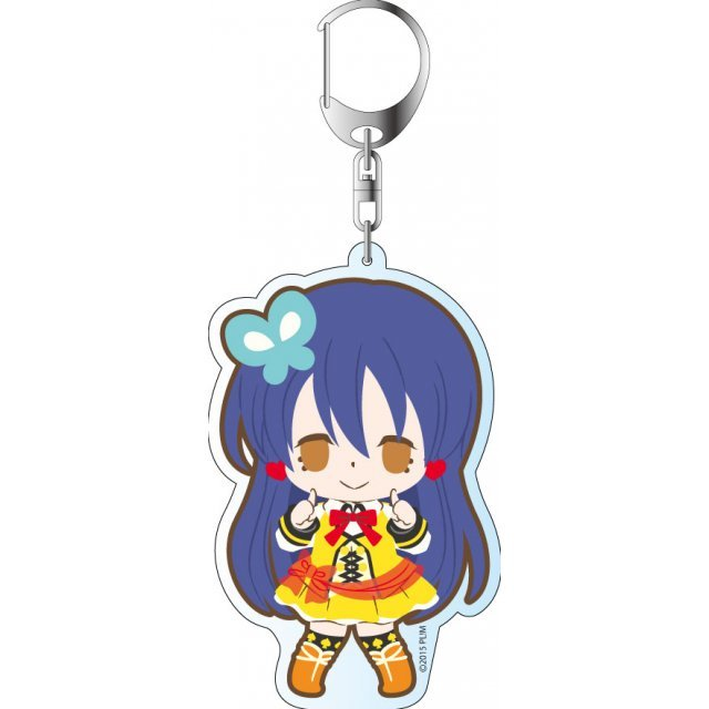 Love Live! The School Idol Movie Deka Keychain: Sunny Day Song Ver. Sonoda Umi