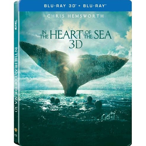 In the Heart of the Sea [3D+2D] [Steelbook Limited Edition]