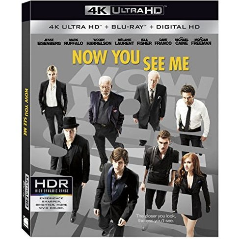 now you see me 4k uhd blu ray. Black Bedroom Furniture Sets. Home Design Ideas