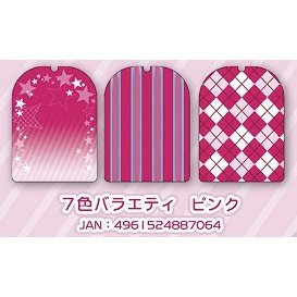 Charakurumi Rubber Strap Cover L 7 Colors Variety Pink