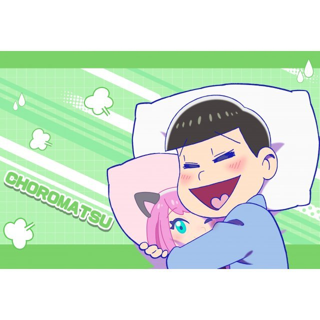 Osomatsu-san Original Illustration Pillow Case: Choromatsu