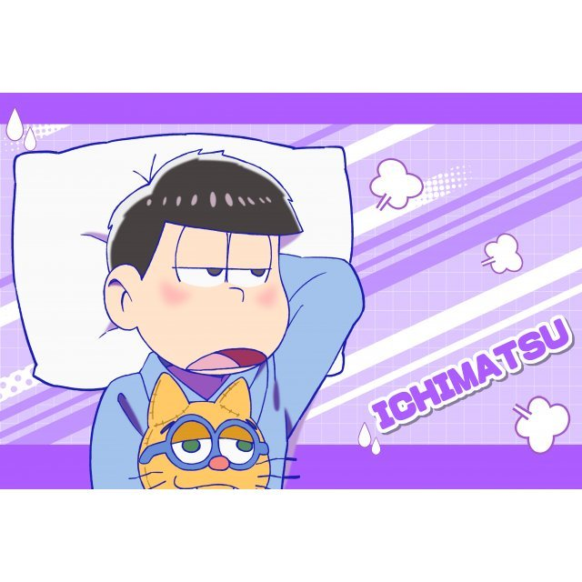 Osomatsu-san Original Illustration Pillow Case: Ichimatsu