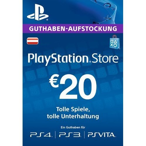 PlayStation Network 20 EUR PSN CARD AT