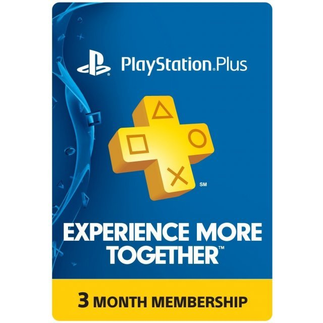 PlayStation Plus 3 Month Membership BE