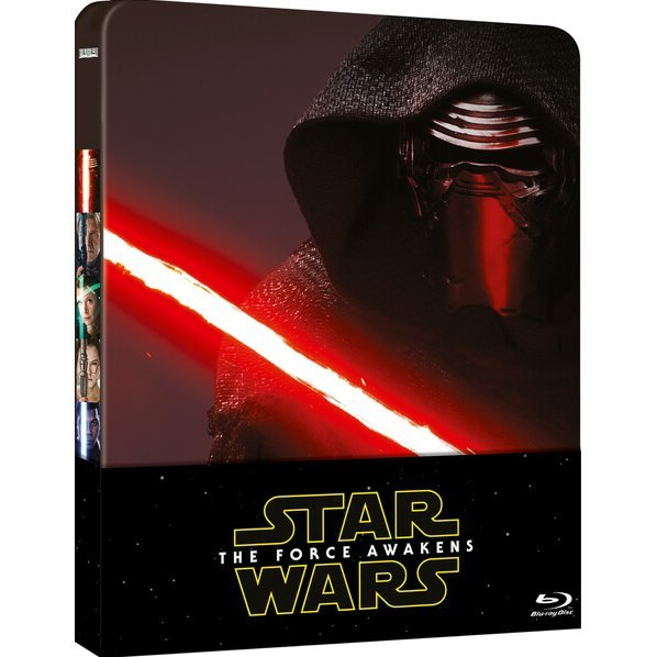 Star Wars: Episode VII - The Force Awakens (Steelbook Limited Edition) [Blu-ray+Bonus Blu-ray]