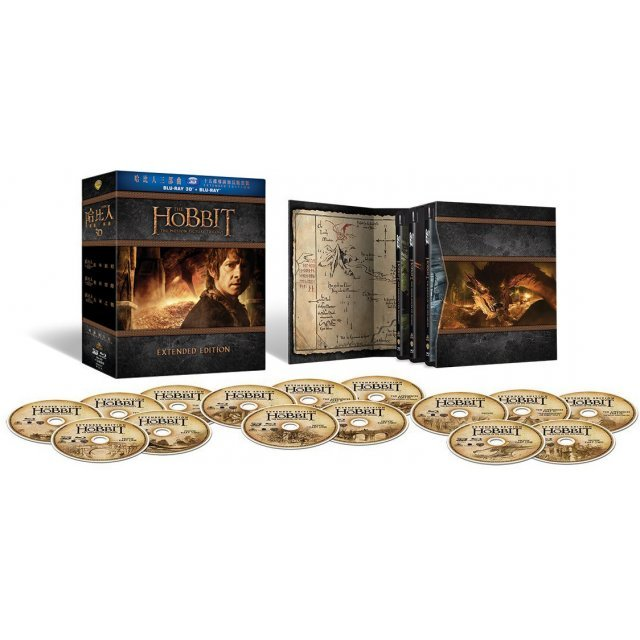 The Hobbit: The Motion Picture Trilogy [15-Disc Blu-ray Boxset] (Extended Edition)
