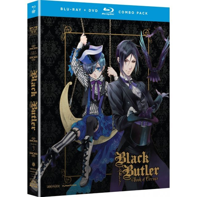 Black Butler: Book of Circus - Complete Third Season [Blu-ray+DVD]