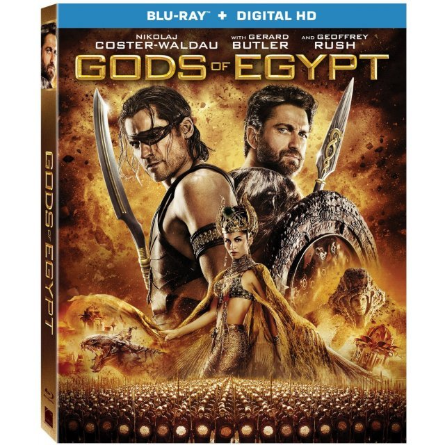 Gods of Egypt [Blu-ray+Digital HD]