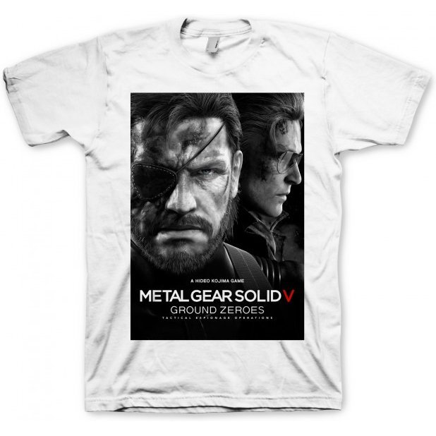 Metal Gear Solid V: Ground Zeroes T-Shirt: Ground Zeroes (L Size)
