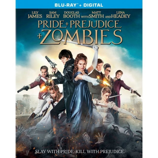 Pride and Prejudice and Zombies [Blu-ray+Digital HD]