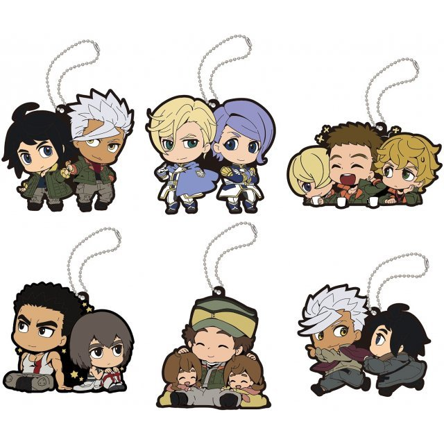 Buddy-Colle Mobile Suit Gundam Iron-Blooded Orphans Rubber Mascot: Iron-Blooded no Kizuna Ver. (Set of 6 pieces)