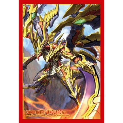 Cardfight!! Vanguard G Bushiroad Sleeve Collection Mini Vol. 209: Supreme Heavenly Emperor Dragon Dragonic Blademaster Taiten