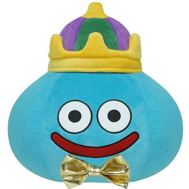Dragon Quest Smile Slime Plush: Dragon Quest 30th Anniversary Ver. Slime L Size