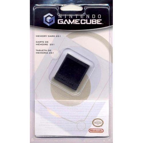 Gamecube Memory Card 251 (16MB)
