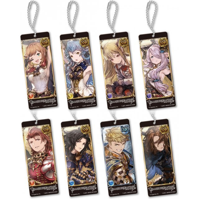 Granblue Fantasy Trading Acrylic Plate (Set of 8 pieces)