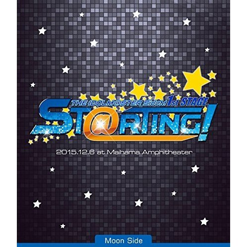 Idolm@ster SideM 1st Stage - St@rting! Live Blu-ray [Moon Side]