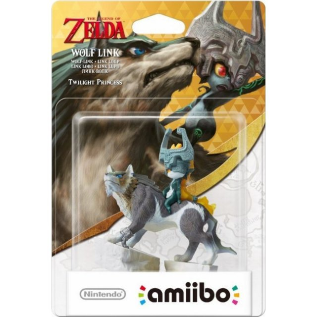 amiibo The Legend of Zelda Series Figure (Wolf Link)