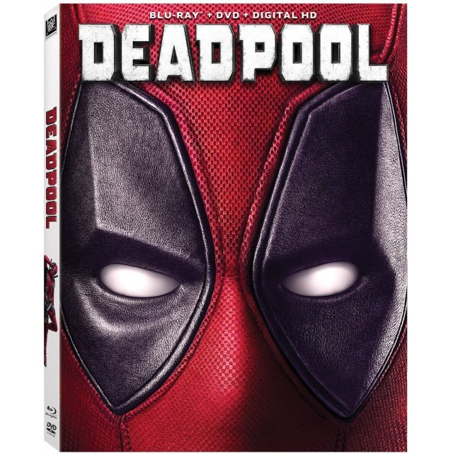 Deadpool [Blu-ray+DVD+Digital HD+UltraViolet]