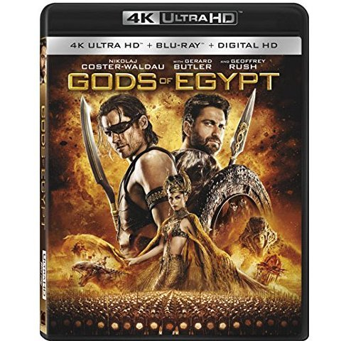 Gods of Egypt [4K UHD Blu-ray]