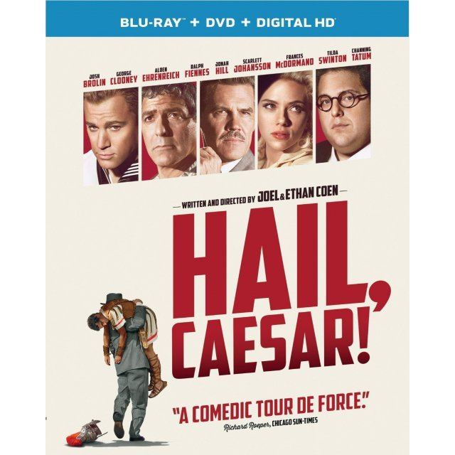 Hail, Caesar! [Blu-ray+DVD+Digital HD]