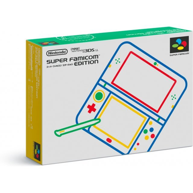 New Nintendo 3DS LL [Super Famicom Edition]