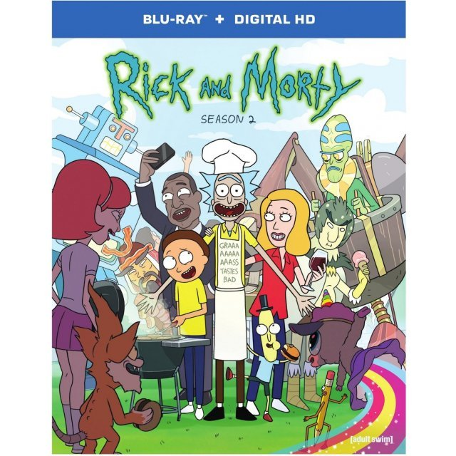 Rick and Morty: Season 2 [Blu-ray+Digital HD]
