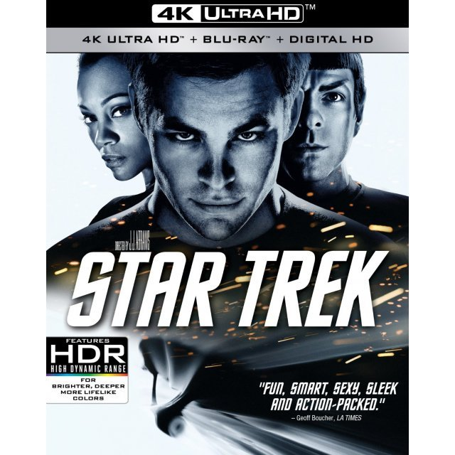 Star Trek [4K UHD Blu-ray]