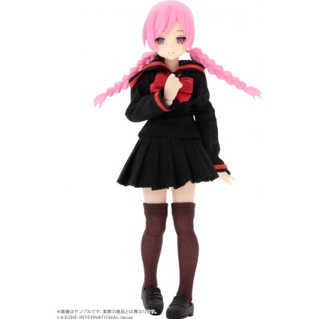 Assault Lily Series 019 Assault Lily 1/12 Scale Fashion Doll: Custom Lily Type-D Hair Color Pink