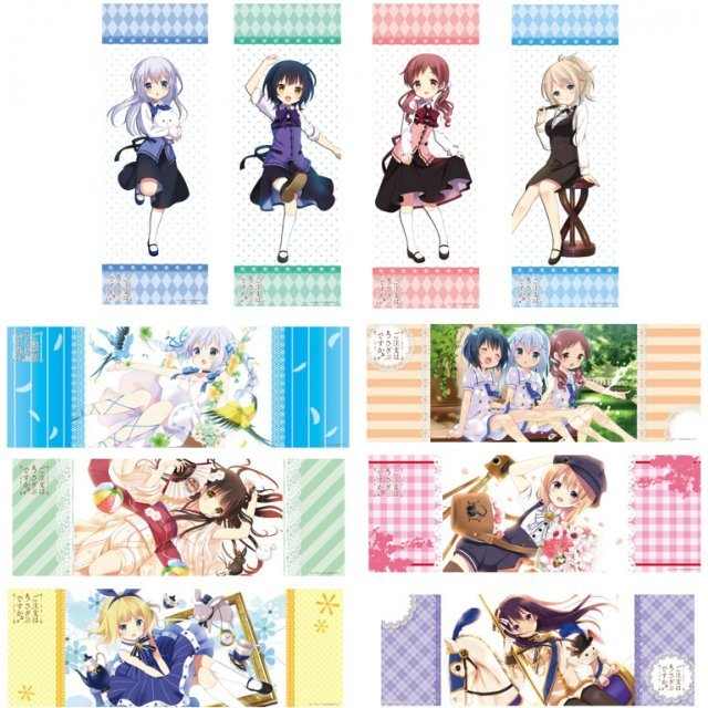 Gochuumon wa Usagi Desu ka? Collection Poster Vol.2  (Set of 10 pieces) (Re-run)
