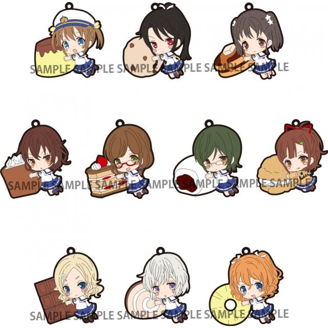 High School Fleet PitaColle Rubber Strap (Set of 10 pieces)