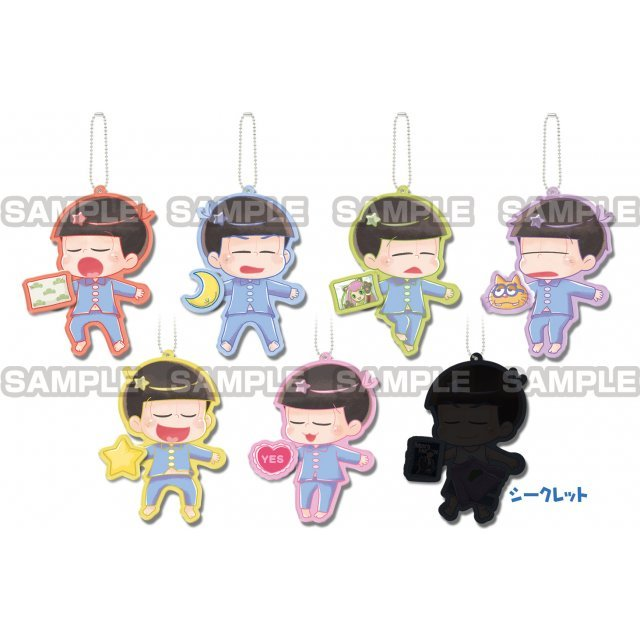 Osomatsu-san Tetsunagi Deformed Keychain Vol.2 (Set of 7 pieces)