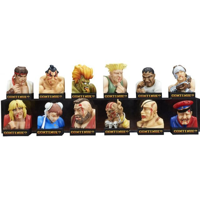 Street Fighter II Trading Figure Losing Face Collection Vol. 1 (Set of 12 pieces)