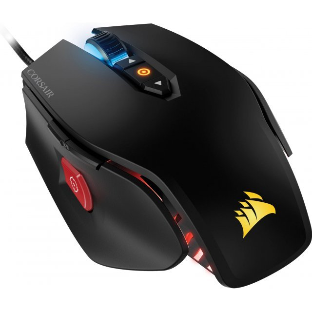 Corsair Gaming M65 RGB Mouse, New Logo, USB (Black)