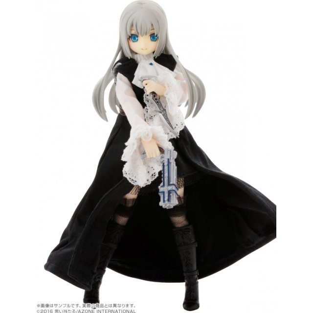 Black Raven Series Fashion Doll: Lilia / The Battle of The Night. Misty Silver Edition