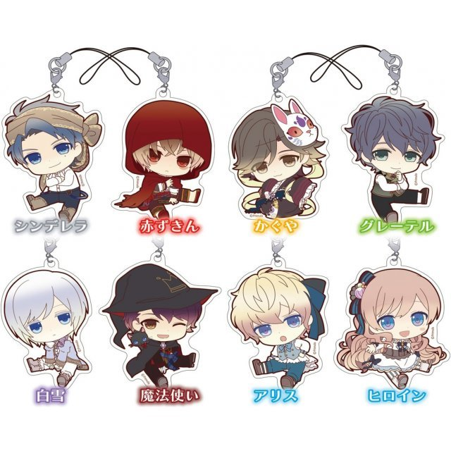 Taishou x Alice Petanko Trading Acrylic Strap (Set of 8 pieces)