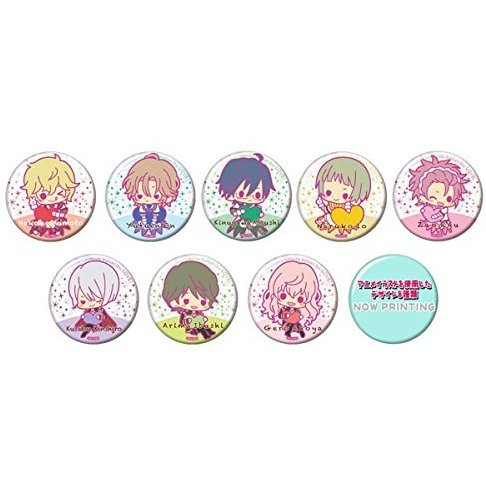 Trading Badge Collection Cute High Earth Defense Club LOVE! (Set of 20 pieces)