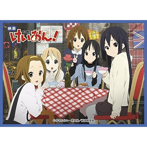 Chara Sleeve Collection Deluxe K-On! Movie No. DX009