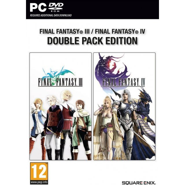 Final Fantasy III / Final Fantasy IV Double Pack Edition (DVD-ROM)