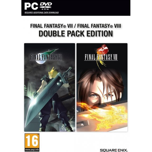 Final Fantasy VII / Final Fantasy VIII Double Pack Edition (DVD-ROM)