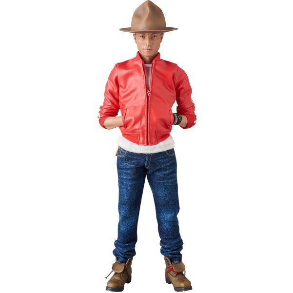 Real Action Heroes No. 755 1/6 Scale Action Figure: Pharrell Williams